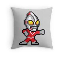 Mega Ultraman Throw Pillow
