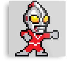 Mega Ultraman Metal Print
