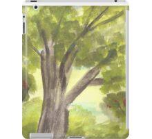 Green Trees iPad Case/Skin