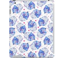 Watercolor cupcakes with texture space.  iPad Case/Skin
