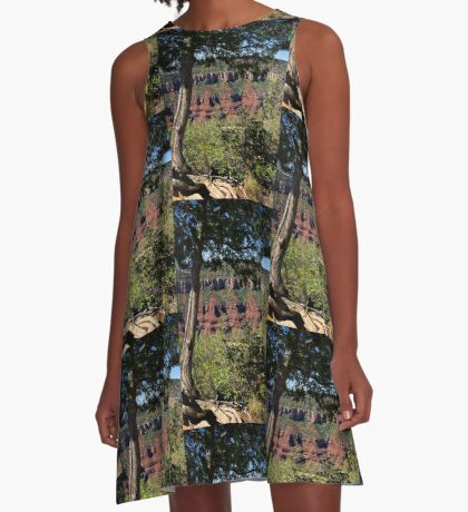 Hold Tight A-Line Dress