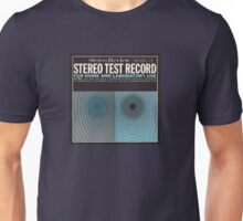 Stereo test vintage record album cover 1965 Unisex T-Shirt