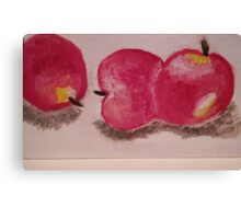 Fruit Series -Apples Canvas Print