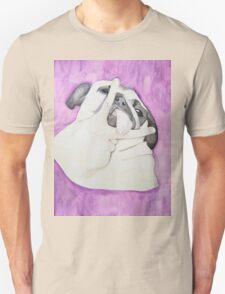 Peace Out Pug  Unisex T-Shirt