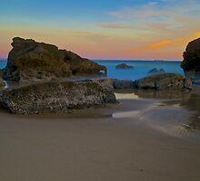 Beach Sunset.  by blakemink