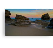 Beach Sunset.  Canvas Print