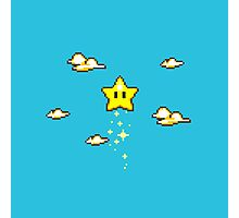 Star in the Clouds Photographic Print