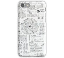 Walk The Moon- Talking is Hard LYRIC SHEET iPhone Case/Skin