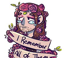 I remember all of them by doodle Joy