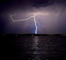 Lightning.  by blakemink