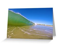 Water Surge.  Greeting Card