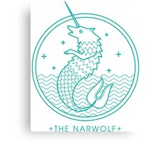 The Narwolf Canvas Print