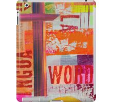 Words iPad Case/Skin