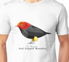 Red Capped Manakin, The Moonwalker Unisex T-Shirt