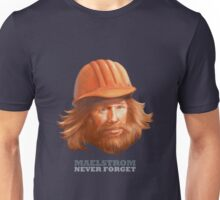 Maelstrom - Never Forget - Construction Worker Unisex T-Shirt