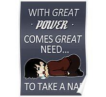 Take A Nap Poster