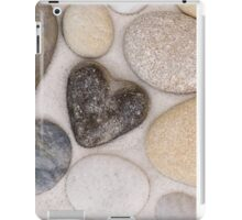 Stone heart iPad Case/Skin