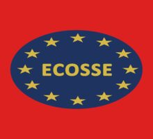 """Ecosse,""  Scotland Should Be Part of the EU! One Piece - Short Sleeve"