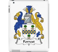 Forrest Coat of Arms / Forrest Family Crest iPad Case/Skin