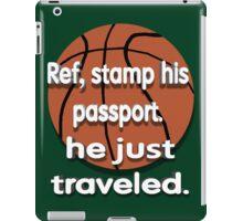 He Just Traveled iPad Case/Skin