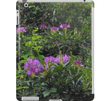 Rhododendrons - London Temple iPad Case/Skin