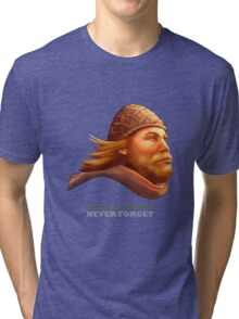 Maelstrom - Never Forget - Viking Tri-blend T-Shirt