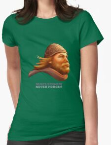 Maelstrom - Never Forget - Viking Womens Fitted T-Shirt