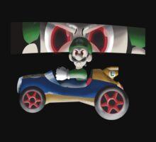 Luigi Death Stare by Scott Duncan