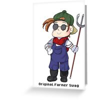 Farmboy Swagger Greeting Card