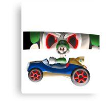 Luigi Death Stare Canvas Print