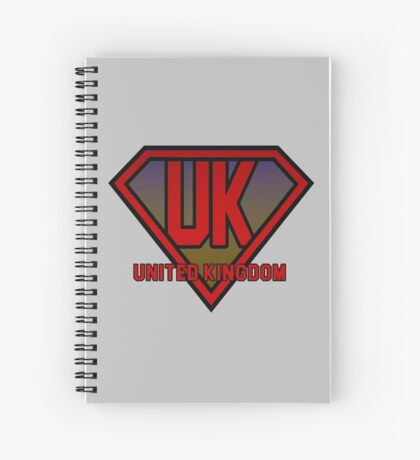 United Kingdom! Spiral Notebook
