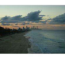 Sunset Miami Beach Photographic Print