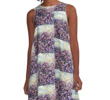 Purple haze A-Line Dress