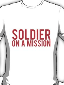 Soldier on a Mission logo T-Shirt
