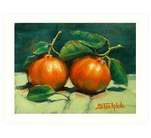 First Mandarins of the Season Art Print