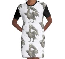 Pelican Graphic T-Shirt Dress