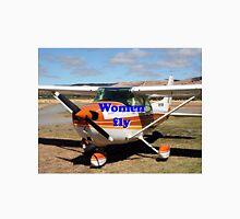 Women fly: high wing aircraft Unisex T-Shirt