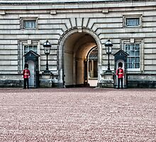 Buckingham Palace by Philip Golan
