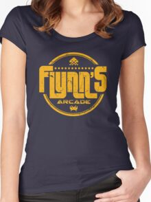 Flynn's Arcade Women's Fitted Scoop T-Shirt
