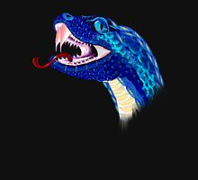 Blue Snake Head Pullover