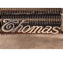 Thomas Name Badge Photographic Print