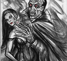 dracula and bride by dgstudio