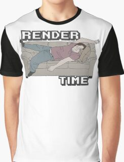 Render Time Graphic T-Shirt