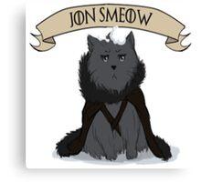 Game of Thrones - Jon Smeow Canvas Print