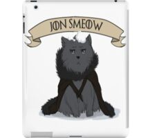 Game of Thrones - Jon Smeow iPad Case/Skin