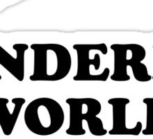 Howlin' Mad Murdock's 'The Wonderful World of Fungus' Sticker