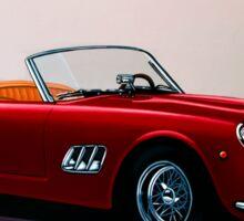 Ferrari 250 GT California Spyder Painting Sticker