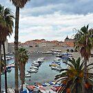 Old harbour of Dubrovnik - Croatia by Arie Koene