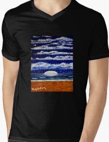 Stars at Night Mens V-Neck T-Shirt