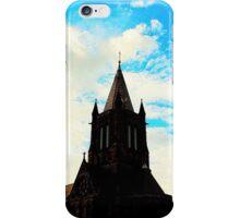Black Church in Blue iPhone Case/Skin